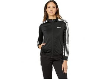 Essential 3-Stripes Tricot Jacket at Zappos