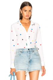 Essential Blouse in Stars by Equipment at Forward