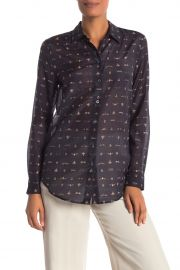 Essential Button Up Blouse by Equipment at Nordstrom Rack