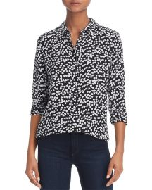 Essential Silk Heart Shirt at Bloomingdales