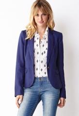 Essential linen blazer at Forever 21