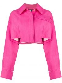 Esterel square cropped jacket at Farfetch