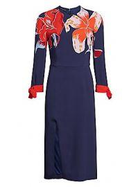 Etro - Lily-Print Midi Dress at Saks Fifth Avenue
