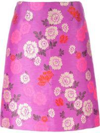 Etro Floral Print A-line Skirt - Veritas at Farfetch