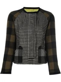 Etro Gingham Check Jacket at Farfetch
