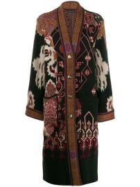Etro Printed Cardi Coat - Farfetch at Farfetch
