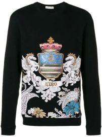 Etro Printed Sweatshirt - Farfetch at Farfetch