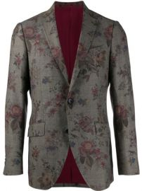 Etro floral-print Blazer - Farfetch at Farfetch