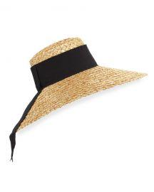 Eugenia Kim Mirabel Natural Straw Hat  Nude at Neiman Marcus