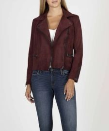 Eveline Jacket in Raisin by Kut from Kloth at Kut from Kloth