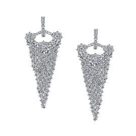 Evening Affair Diamond Earrings by Dena Kemp at Dena Kemp
