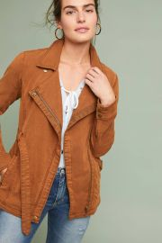 Everyday Belted Moto Jacket by Anthropologie at Anthropologie