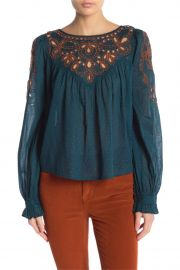 Everything I Know Cotton Peasant Blouse by Free People at Nordstrom Rack