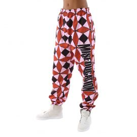 Ex Factor Diamond Print Sweatpants by Melody Ehsani at Melody Ehsani