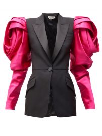 Exaggerated Shoulder Blazer by Alexander McQueen  at Matches