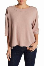 Exposed seam top at Amazon