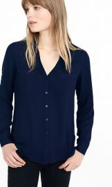 Express Slim Fit Portofino Shirt  at Express