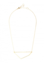 Eye-catching Quadrilateral Necklace at Modcloth at Modcloth