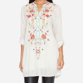 Eyelet Garden Blouse at Johnny Was
