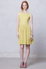 Eyelet dress at Anthropologie at Anthropologie