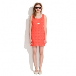 Eyelet dress by Madewell at Madewell