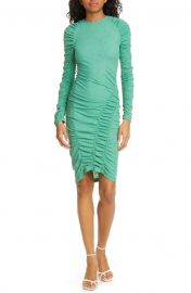 Ezra Ruched Long Sleeve Dress at Nordstrom