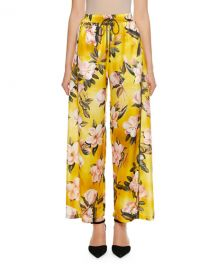 F R S For Restless Sleepers Apate Cabotine Plumeria Print Pants at Neiman Marcus