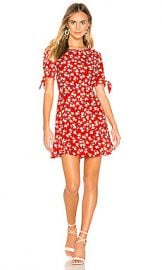 FAITHFULL THE BRAND Daphne Dress in Red Jasmine Floral from Revolve com at Revolve