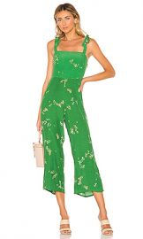 FAITHFULL THE BRAND Elsa Jumpsuit in Myrtille Floral from Revolve com at Revolve