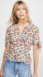 FAITHFULL THE BRAND Lucy Wrap Top at Shopbop