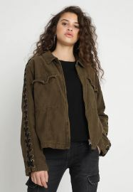 FAYE MILITARY JACKET at Free People