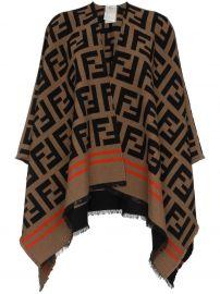 FF logo shawl at Farfetch