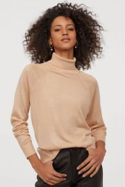 FINE-KNIT TURTLENECK SWEATER at H&M