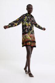 FLORAL PRINT SHIRT at Zara