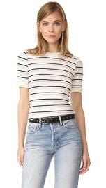 FRAME 70s Double Stripe Fitted Tee at Shopbop