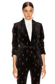 FRAME Classic Blazer in Noir Multi   FWRD at Forward