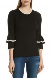 FRAME Double Ruffle Cuff Sweater  Nordstrom Exclusive at Nordstrom