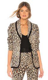 FRAME Fitted Velvet Jacket in Camel Multi from Revolve com at Revolve