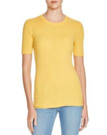 FRAME Le Crew Ribbed Cotton Sweater at Bloomingdales
