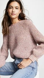 FRAME Marled Crew Sweater at Shopbop