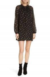 FRAME Metallic Fil Coup   Minidress at Nordstrom