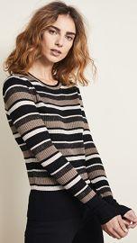 FRAME Panel Stripe Sweater at Shopbop