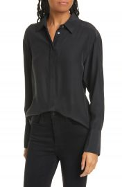 FRAME Perfect Silk Shirt   Nordstrom at Nordstrom