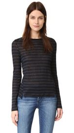 FRAME Pintuck Linen Tee at Shopbop