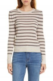 FRAME Shirred Stripe Cashmere Sweater  Nordstrom Exclusive    Nordstrom at Nordstrom