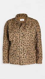 FRAME Spring Cheetah Service Jacket at Shopbop