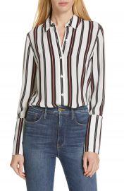 FRAME Stripe Pajama Shirt   Nordstrom at Nordstrom