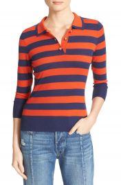 FRAME Stripe Wool Blend Sweater at Nordstrom