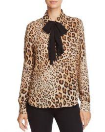 FRAME True Leopard Print Silk Blouse Women - Bloomingdale s at Bloomingdales
