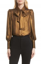 FRAME Voluminous Scarf Blouse at Nordstrom